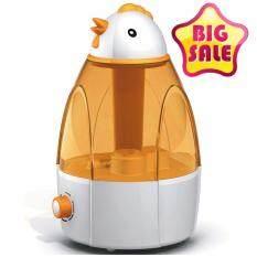 ซื้อ Ultrasonic Atomization Humidifier เครื่องพ่นควันเพิ่มความชื้นทรงแพนกวิ้น 3 2L Yellow Series Shop108 ถูก