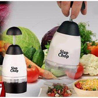 อุปกรณ์หั่นผัก เครื่องสับอเนกประสงค์Slap Chop Vegetable and Fruit Chopper - White