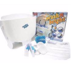Wash N Bright เครื่องล้างจาน ล้างชาม แบบพกพา ราคาประหยัด ไม่ใช้ไฟฟ้า.