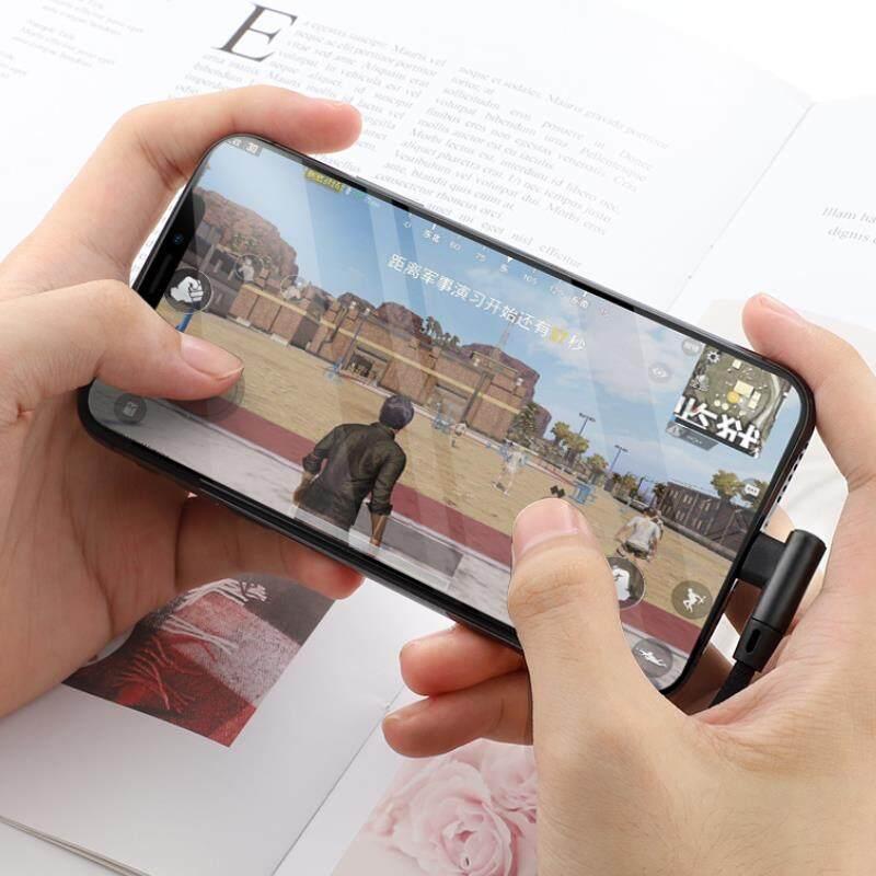 [ส่งจากไทย] 2m 90 องศา มุม90องศา Quick Charging Cable เหมาะใช้กับ Micro/type-C/lightning/ ความยาว 2mกับ เครื่องโทรศัพฑ์ Samsung/huawei/vivo/oppo/apple.