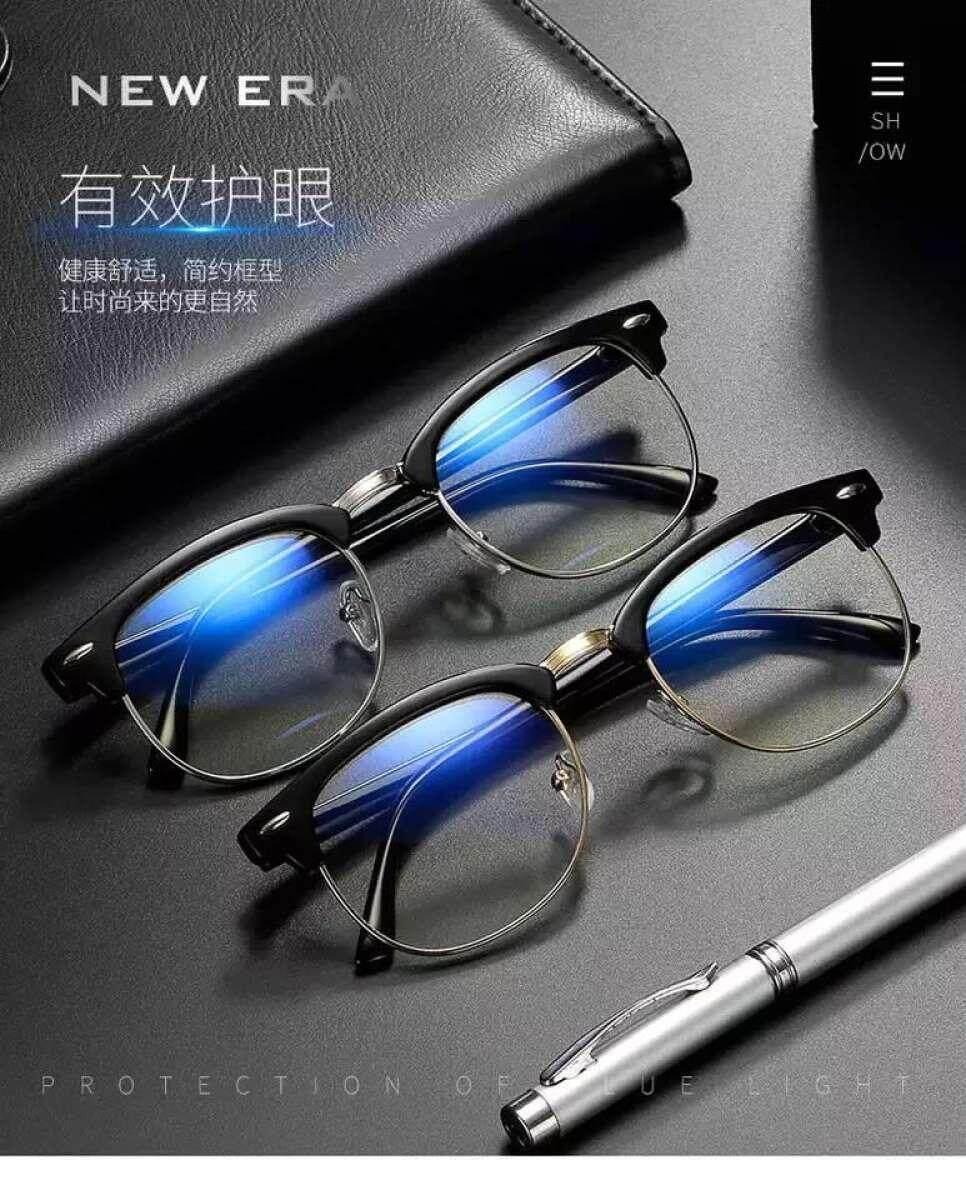 แว่นตากรองแสงสีฟ้า แว่นตากรองแสง ผู้ชายผู้หญิง แว่นกรองแสงคอม แว่นถนอมสายตา แว่นตัดแสง แว่นสายตา แว่นตาผู้ชาย แว่นตากรองแสง แฟชั่น แว่นสายตาแฟชั่น.