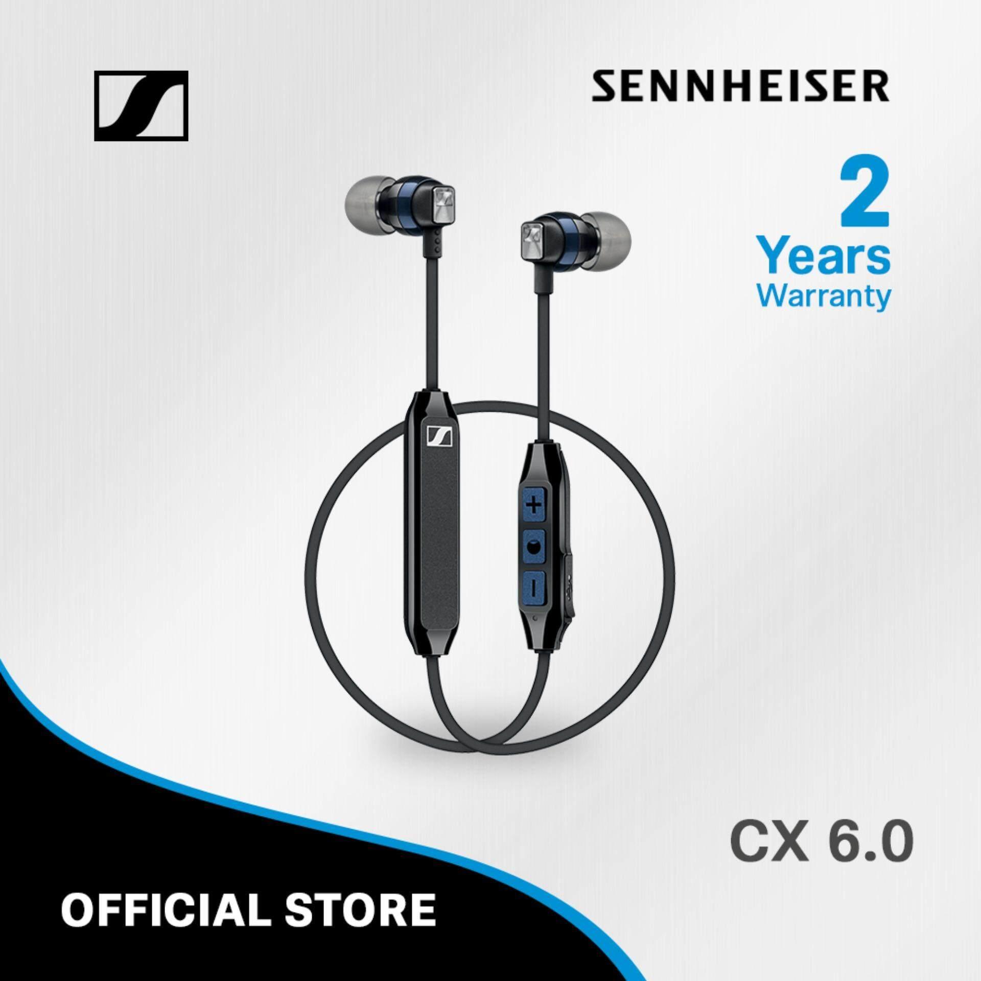 Sennheiser หูฟังอินเอียร์บลูทูธ รุ่น CX 6.00BT พร้อมไมโครโฟนและรีโมต  - รีวิว Sennheiser CX6.00BT หูฟังไร้สาย ฟังสนุก ไร้ดีเลย์
