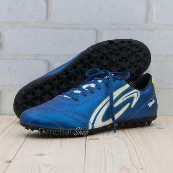 GIGA รองเท้าฟุตซอลร้อยปุ่ม (100 ปุ่ม) สนามหญ้าเทียม รุ่น DASH สีน้ำเงิน-