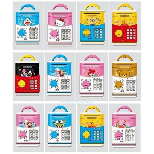 กระปุกออมสินตู้เซฟ สุดน่ารัก Doraemon (atm) By Shop24.