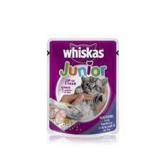วิสกัส แบบซอง ลูกแมว ปลาทู 24 ซอง
