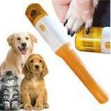 ซื้อ กรรไกรตัดเล็บแมว ที่ลับเล็บแมว ตะไบเล็บแมว แบบอัตโนมัติ ไร้สาย พร้อมตะไบ 3 ชุด Electric Pet Dog Cat Nail Trimmer Pedicure Tool กรุงเทพมหานคร