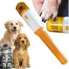 กรรไกรตัดเล็บแมว ที่ลับเล็บแมว ตะไบเล็บแมว แบบอัตโนมัติ ไร้สาย พร้อมตะไบ 3 ชุด Electric Pet Dog Cat Nail Trimmer Pedicure Tool.