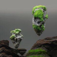 ขาย Aquarium Fish Tank Floating Rock Suspended Stones Artifical Water Decor Pick Intl ออนไลน์ จีน