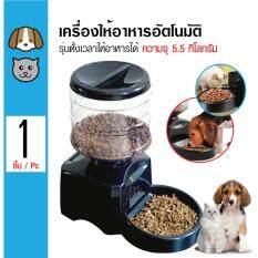 ราคา Automatic Pet Feeder เครื่องให้อาหารอัตโนมัติ แบบตั้งเวลาได้ หน้าจอ Led สำหรับสุนัขและแมว ความจุ 5 5 กิโลกรัม Ccpets กรุงเทพมหานคร