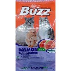 ขาย Buzz *d*lt Cat Salmon อาหารแมวโต รสปลาแซลมอน 1 2Kg 2 Units ใหม่