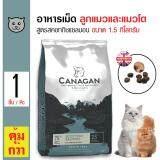 ราคา Canagan อาหารแมว สูตรสคอททิชแซลมอน บำรุงผิวหนังและขน สำหรับแมวทุกวัย ทุกสายพันธุ์ ขนาด 1 5 กิโลกรัม ใหม่