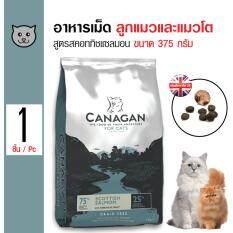 ขาย Canagan อาหารแมว สูตรสคอททิชแซลมอน บำรุงผิวหนังและขน สำหรับแมวทุกวัย ทุกสายพันธุ์ ขนาด 375 กรัม Canagan เป็นต้นฉบับ