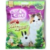 ราคา Catty Cat ทรายแมว เต้าหู้ ผสมชาเขียว สำหรับแมว สูตรธรรมชาติ 100 ขนาด 6ลิตร X 2ถุง ราคาถูกที่สุด