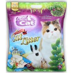 ขาย Catty Cat ทรายเต้าหู้อนามัย สำหรับแมว สูตรธรรมชาติ 100 ขนาด 6ลิตร X 2ถุง ออนไลน์