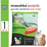 ขาย Charcoal Sand ทรายแมว ทรายเบนโทไนต์ กลิ่นชาร์โคล จับเป็นก้อนดี ฝุ่นน้อย สำหรับแมวทุกสายพันธุ์ ขนาด 10 ลิตร ออนไลน์