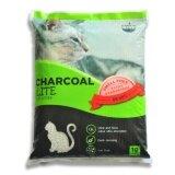 ซื้อ Charcoal Sand 10 Litres ทรายแมวจากถ่านกัมมันต์และเบนโทไนท์ สูตรไลท์ ฝุ่นน้อย 89 98 10 ลิตร ใหม่