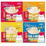 ซื้อ Ciao Chu Ru 4 แพ็ค ขนมแมวเลีย คละ 4 รส 14 กรัม X 20 ซอง