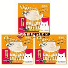 ขาย Ciao Churu Chicken Fillet Seafood Mix 14G X20Pcs 3 Packs ขนมแมวเลีย สูตรเนื้อสันในไก่ ซีฟู้ด พร้อมโภชนาการครบครัน บรรจุ 20 ซอง แพ็ค