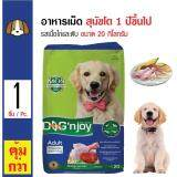 ซื้อ Dog N Joy อาหารเม็ดสุนัข สูตรเนื้อไก่และตับ สำหรับสุนัขโต 1 ปีขึ้นไป ขนาด 20 กิโลกรัม ถูก กรุงเทพมหานคร