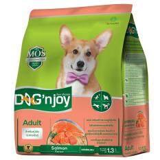 ขาย Dog N Joy ด็อกเอ็นจอย อาหารสุนัขโตทุกสายพันธุ์ สูตรปลาแซลมอน ขนาด 1 3 กก Dog N Joy เป็นต้นฉบับ
