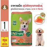 ราคา Dog N Joy อาหารเม็ดสุนัข สูตรเนื้อปลาแซลมอน บำรุงผิวหนังและขน สำหรับสุนัขโตทุกสายพันธุ์ ขนาด 9 กิโลกรัม ออนไลน์ กรุงเทพมหานคร