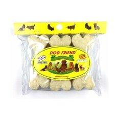 ส่วนลด Dog Friend ขนมขบเคี้ยวสุนัข ครันชี่โบน 4 5 นิ้ว รสนม 1 ซอง กรุงเทพมหานคร