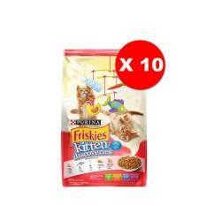 โปรโมชั่น Friskies Kitten Discoveries 1 1 Kg X 10 Units ฟริสกี้ส์ อาหารลูกแมว รสไก่และปลา ขนาด 1 1 กิโลกรัม จำนวน 10 ถุง ใน ไทย