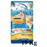 ซื้อ Friskies Seafood Sensations 19 Kg ฟริสกี้ส์ ซีฟู๊ดเซนเซชั่น ขนาด 19 กิโลกรัม Friskies ถูก