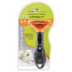ขาย Furminator แปรงหวีขนสุนัข กำจัดขนเสีย สำหรับสุนัขขนยาว พันธุ์กลาง ขนาด M ผู้ค้าส่ง