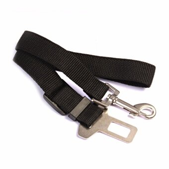 GETEK Adjustable Pet Dog Harnesses Seat Belt Lead Restraint Strap Car Safety NEW - intl
