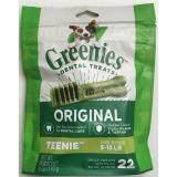 ขาย ซื้อ Greenies Treat For Dogs Tinnie ขนมขัดฟันสำหรับ สุนัข น้ำหนัก 2 7 กก บรรจุ 22 ชิ้น Thailand