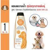 ทบทวน Groomer S Salon Select แชมพู สูตร Oatmeal บำรุงผิวหนังและขน สำหรับสุนัขแพ้ง่ายทุกสายพันธุ์ ขนาด 544 มล