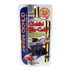ราคา Hikari Cichlid Bio Gold 57G อาหารปลาหมอสี ราคาถูกที่สุด