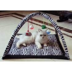 ขาย Inter Shop Lovecats Model Cc006 White Black เปลนอนแมว เตียงนอนแมว ของเล่นแมว อุปกรณ์สำหรับแมว Cat Bed Cat Toys Thailand ถูก