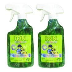 Ion Refreshing Antiseptic Deodorizing Herbal Pet Spray With Tea Tree Oil 500ml. (2 Bottles) สเปรย์ สมุนไพรกำจัดกลิ่น สัตว์ สูตรทีทรีออยล์ 500มล. (2 ขวด).