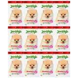 ซื้อ Jerhigh Strawberry เจอร์ไฮ สตรอเบอร์รี่ สติ๊ก ขนมสำหรับสุนัข เพื่อความสวยงาม ขนาด 70 กรัม จำนวน 12 ซอง ถูก ไทย