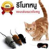 ราคา ของเล่นแมว ของเล่นหมา ของเล่นน้องแมว ของเล่นแมวจับหนู รีโมทคอนโทรล ไร้สาย เกมส์แมวจับหนู สีดำ เป็นต้นฉบับ