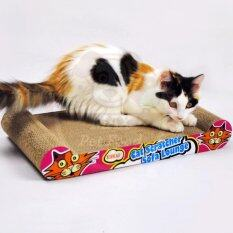 Kinchla ที่ลับเล็บแมว แบบกระดาน ของเล่นแมว .