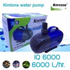 Kintons ปั้มน้ำประหยัดไฟ รุ่น Iq6000 By Kintons Aquatic Thailand.