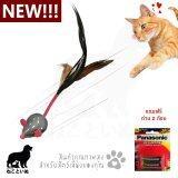 ราคา Kittykins ของเล่นแมว หนูหุ่นยนต์ ติดขนนก รีโมทคอนโทรล แถมฟรีถ่าน 2 ก้อน ราคาถูกที่สุด