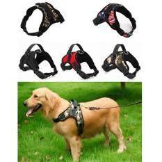 ขาย ซื้อ Large Dog Traction Rope Chest And Back Strap Adjustable Harness Comfortable Pet Supplies Red M Intl