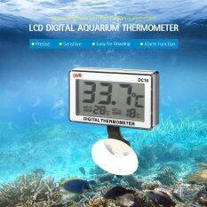 ราคา Lcd Digital Fish Tank Aquarium Thermometer Submersible Water Temperature Meter 0�C 50�C High Low Temperature Alarm Intl Unbranded Generic