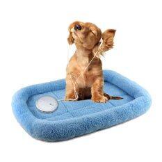 ราคา Leegoal สัตว์เลี้ยงในร่มเบาะหนุนบ้านเบาะที่นอนนอนหมาขนแกะลัง 15 7X10 7X2 5 นิ้วสำหรับแมวและสุนัขขนาดเล็ก นานาชาติ Leegoal ออนไลน์