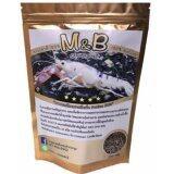 ซื้อ M B อาหารกุ้งเพรียงทรายอัดเม็ด โปรตีนสูง 51 ชนิดซอง 120G ออนไลน์ ไทย