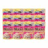 ราคา Nekkoอาหารเปียกแมว รสปลาทูน่าหน้ากุ้ง และหอยเชลล์70G 12 Units Nekko เป็นต้นฉบับ