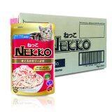 ราคา Nekko Tuna Topping Kanikama 70G X 48 Units เน็กโกะ สูตรปลาทูน่าหน้าปูอัดในเยลลี่ ขนาด70กรัม จำนวน 48ซอง ถูก