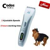 ราคา ราคาถูกที่สุด New Arrivals 2017 Codos Cp 8100 Professional Electric Pet Dog Hair Clipper Dog Electric Shaver Rechargeable Dog Grooming Trimmer Intl