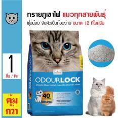 ส่วนลด Odour Lock ทรายแมวภูเขาไฟ ฝุ่นน้อย จับตัวเป็นก้อนเร็ว เก็บกลิ่น สำหรับแมวทุกสายพันธุ์ ขนาด 12 กิโลกรัม Odour Lock ใน กรุงเทพมหานคร