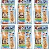 ราคา อาหารแมว Ole Kat รสแซลมอน 1 Kg แพ็ค 6 ถุง Ole ออนไลน์