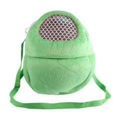กระเป๋าสัตว์เลี้ยงระบายอากาศ Pocket Hamster Travel เตียงแขวน (สีเขียว) - Intl By Globedealwin.